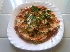Receta de hummus con pan árabe - Receta fácil de cocina árabe