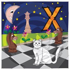 For today we have prepared another letter from our Alphabet of pet's name - Letter X for Xena, the American curl :-) #HAPIdesign #alphabet #letters #X #cat #pet #curl #cute #smile #kids #happy #instagood #instalike #follow #drawing #digital #spiral #mandala