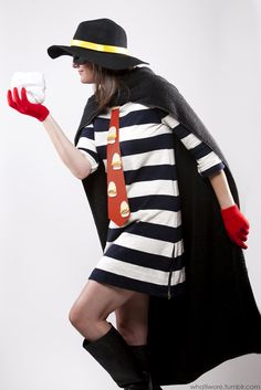 Hamburgler, What I Wore Halloween, Homemade Costumes for Adults