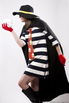 costume ideas for the ladies . diy halloween