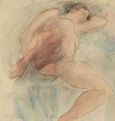 Auguste Rodin   Lying Nude
