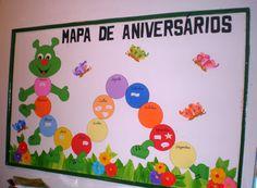 WCB Criatividades: Mural de Aniversários