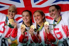 Great Britain - Cycling Team Pursuit - Gold