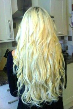 This is how long I want my hair....my hair is this color and I want the ends to be dip dyed royal blue :)