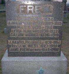 Anna Hamill Frew (1807-1883) - Find A Grave Memorial