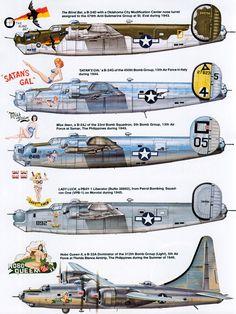 "Consolidated B-24 ""Liberator"" | Mundo Historia"