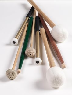 Sticks and mallets.