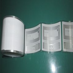 Double frequency tamper protection seal label