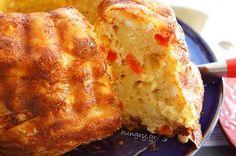 Kitchen Stories: Cheese Pie with Cabanossi Greek Recipes, Wine Recipes, Dessert Recipes, Desserts, Cheese Pies, Kitchen Stories, Cornbread, Wines, Food And Drink