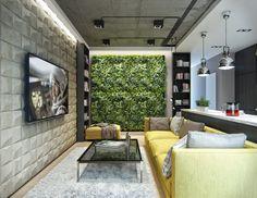Casinha colorida: Para os aficionados por TV: inspirações de home theater, sala de estar, quarto e até cozinha
