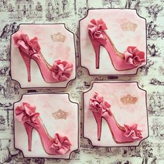 Christian Louboutin High heel sugar cookies...   https://www.facebook.com/Sugarshimmer?ref=hl