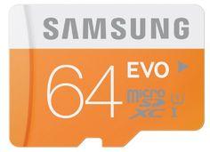 Sale Preis: Samsung Memory 64GB EVO Micro SDXC UHS-I Grade 1 Class 10 Speicherkarte Memory Card (bis zu 48MB/s Transfergeschwindigkeit) ohne SD Adapter. Gutscheine & Coole Geschenke für Frauen, Männer und Freunde. Kaufen bei http://coolegeschenkideen.de/samsung-memory-64gb-evo-micro-sdxc-uhs-i-grade-1-class-10-speicherkarte-memory-card-bis-zu-48mbs-transfergeschwindigkeit-ohne-sd-adapter