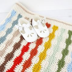 Crochet your own Arthur Blanket! Multiples are included to make the blanket what ever size you wish. Find this adorable baby pattern and more crochet inspiration at LoveCrochet.Com.