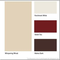 paint colors, love the red