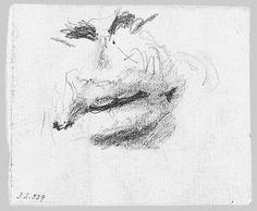 John Singer Sargent | Nostrils and Lips | The Met