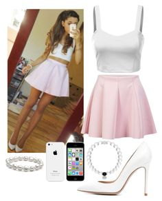 """Steal Her Style: Ariana Grande"" by amazinggrace31 ❤ liked on Polyvore"