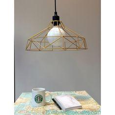 Ilumina tu mundo con esta lámpara diseño campana