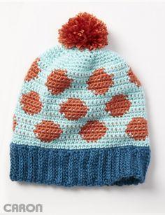 Going Dotty Hat - Patterns | Yarnspirations
