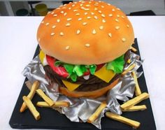 Top 12 Amazing Hamburger Cakes That Will Make You Hungry