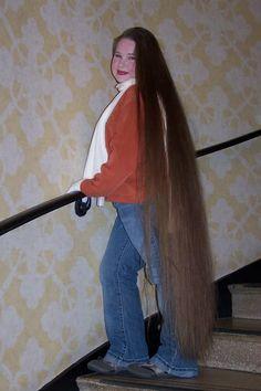 Always ready to give a great hair job:) Hair Job, Donating Hair, Beautiful Long Hair, Amazing Hair, Rapunzel Hair, Super Long Hair, Shoulder Length Hair, Dream Hair, Grow Hair