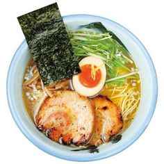 Japanese RAMEN ゆず塩麺 Asian Foods, Asian Recipes, Ethnic Recipes, Japanese Ramen, Ramen Noodles, Sushi, Kitchens, Asian Food Recipes, Sushi Rolls