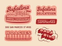 Been working on this project for a bit, and very excited for y'all to try these Italian specialties Bufalina Pizza has been cooking up! Order online to pick up and preview from Bufalina Due. Coming... Design Logo, Badge Design, Graphic Design Typography, Graphic Design Illustration, Layout Design, Branding Design, Pizza Branding, Bakery Branding, Bakery Logo
