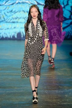 Anna Sui at New York Spring 2016