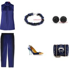 """""""Drak Blue"""" by anna99-486 on Polyvore"""