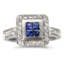 Sapphire/Pave Diamond Ring in 18k White Gold 	 Price: 	$3,232.00  http://astore.amazon.com/greabengagementring-20/detail/B0046VZEW8