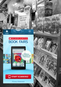 Scholastic Book Fairs App: Book Choice Made Easier | Let's bring the ole @Scholastic  Book Fair into the digital age! | #weteach