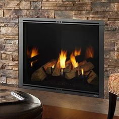 Buy Majestic Marquis II Direct-Vent Gas Fireplace Clear View Efficient at online store Direct Vent Gas Fireplace, Vented Gas Fireplace, Gas Fireplaces, Free Gas, Energy Conservation, Installation Manual, Blue Flames, Home