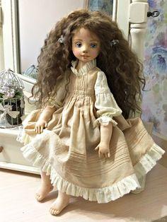 Коллекционные куклы ручной работы. Даренка.Текстильная куколка. ТЕКСТИЛЬНЫЕ МАЛЫШКИ от Лойи. Ярмарка Мастеров. Кула текстильная, кожа