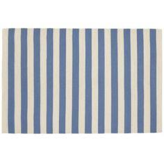 Big Band Rug (Blue) Land of Nod 4x6 $99   5x8 $199   8x10 $299 100% cotton Land of Nod has 18 year Quality guarantee!