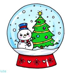 Ideas For Drawing Kawaii Christmas – Doodles Kawaii Doodles, Cute Kawaii Drawings, Christmas Doodles, Christmas Drawing, Christmas Rock, Christmas Crafts, Mery Chrismas, Clipart Noel, Cute Disney