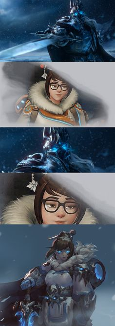Overwatch Litch king MEI World of Warcraft Wrath of the Lich King