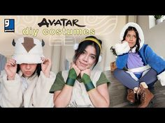 AVATAR the last airbender costumes | diy halloween