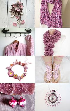 The Charm Of Pink by Zeynep Aydos on Etsy--Pinned with TreasuryPin.com