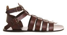 PATRA Gladiator Sandals Leather Sandals Mens by MandalaLeathers