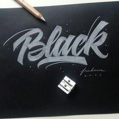 Work by @frak_one #typography #betype #lettering #handlettering...