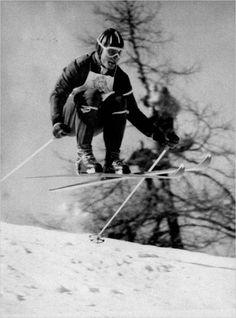 Toni Sailer won three gold medals at the 1956 Winter Olympics.
