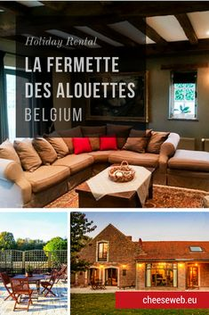 If you're looking for countryside holiday cottages in Belgium, you don't have to go far beyond Brussels to escape to nature. Monika reviews La Fermette des Alouettes, an 18-century farmhouse in Beauvechain. Travel Tips For Europe, Rome Travel, Travel Advice, Travel Pics, Travel Guides, Travel Destinations, Belgium Europe, Belgium Food, Slow Travel