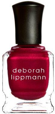 Deborah Lippmann Red Silk Boxers Come-hither crimson