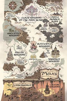 map of mewni