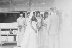 Arizona Wedding with Architectural History Ruffled