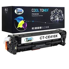 Cool Toner Compatible for CE410X High Capacity Toner Cartridge replacement for HP LaserJet Pro 300 Color M351a MFP M375nw, HP LaserJet Pro 400 Color M451 M451dn M451dw M451nw series MFP M475 M475dn M475dw series, Black 4000 Pages