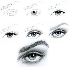Learn to draw eyes, mouth and nose. Check out this guide. It is . - Learn to draw eyes, mouth and nose. Check out this guide. That& it … Learn to draw eyes, mo - Eye Sketch, Drawing Sketches, Pencil Drawings, Art Drawings, Sketching, Drawing Ideas, Drawing Tips, Drawing Lessons, Learn Drawing