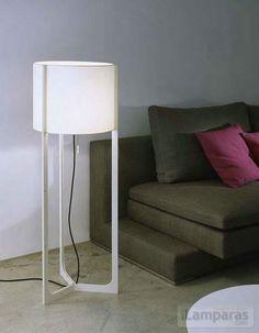 nirvana lampara de pie 40 cm marfil pantalla beige (571110) - Carpyen €388.28 / iLamparas.com