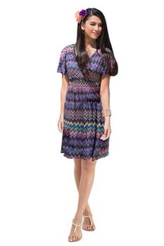 Excellent shaped dress for postpartum body