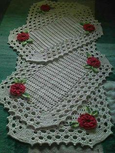 Best 7 Crochet Blanket – Baby – Arielle's Square Crochet pattern by Deborah O'Leary – SkillOfKing. Crochet Dollies, Cotton Crochet, Thread Crochet, Crochet Flowers, Crochet Placemats, Crochet Table Runner, Craft Patterns, Knitting Patterns, Crochet Patterns