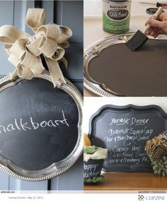 Great idea - especially with thrift store finds!